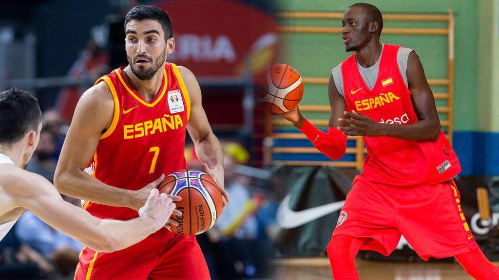 Jaime Fernández e Ilimane Diop, últimos descartes de la Selección Española para la Copa del Mundo FIBAd