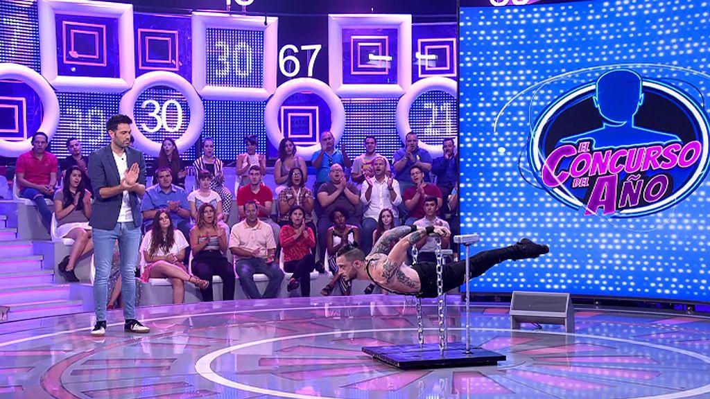 Dani Martínez ensaya para 'Got Talent' con las acrobacias de Jose
