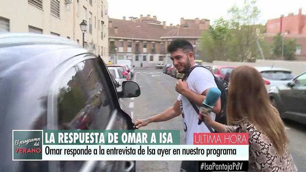 A Omar Montes le entra la risa al escuchar que Isa Pantoja no siente nada por él