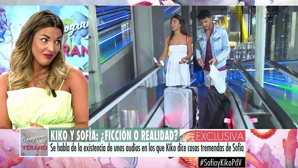 """Adriana Dorronsoro: """"Me consta que hay unos audios que Kiko envió a Gloria Camila hablando muy mal de Sofía"""""""