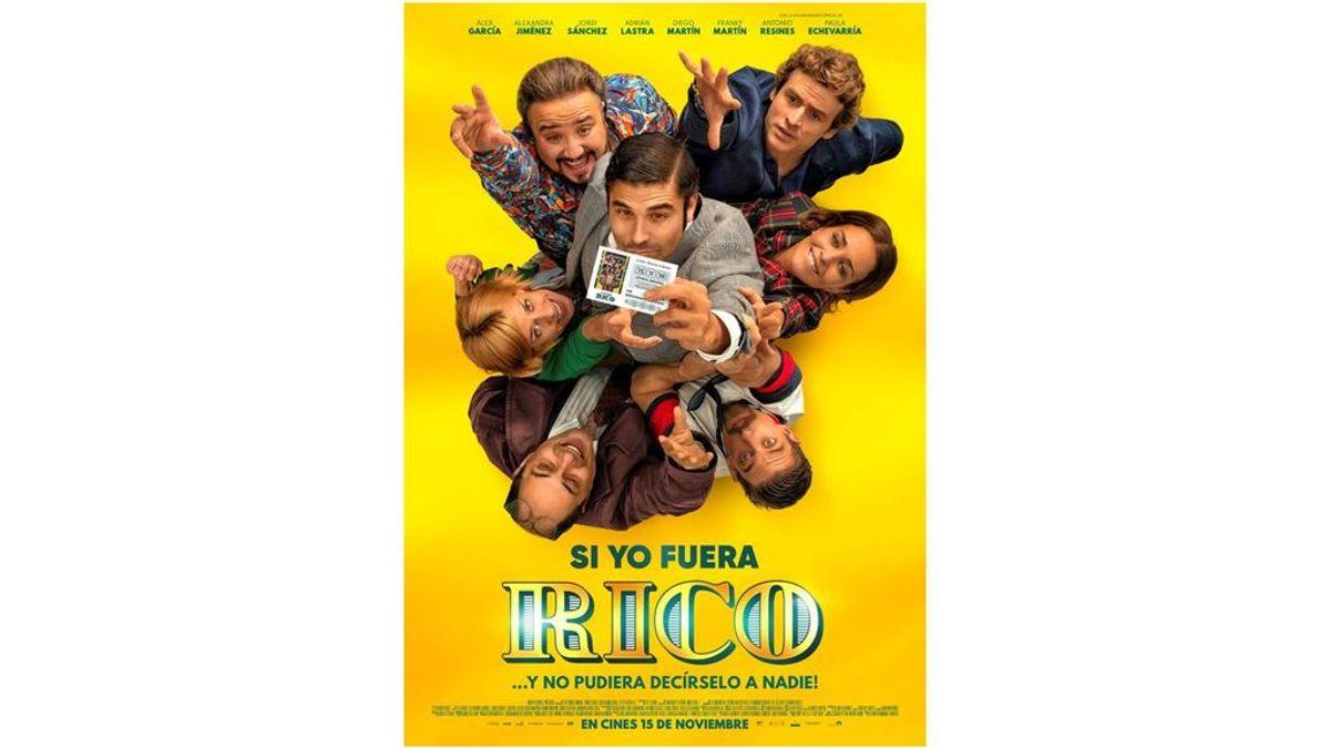 Telecinco Cinema. Cartel y nuevas fotos de 'Si yo fuera rico', comedia dirigida por Álvaro Fernández-Armero
