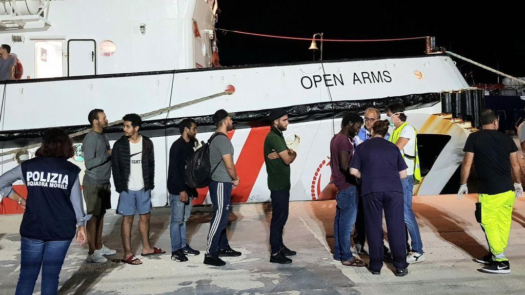 España, Francia, Alemania, Portugal y Luxemburgo acogerán a los migrantes del Open Arms