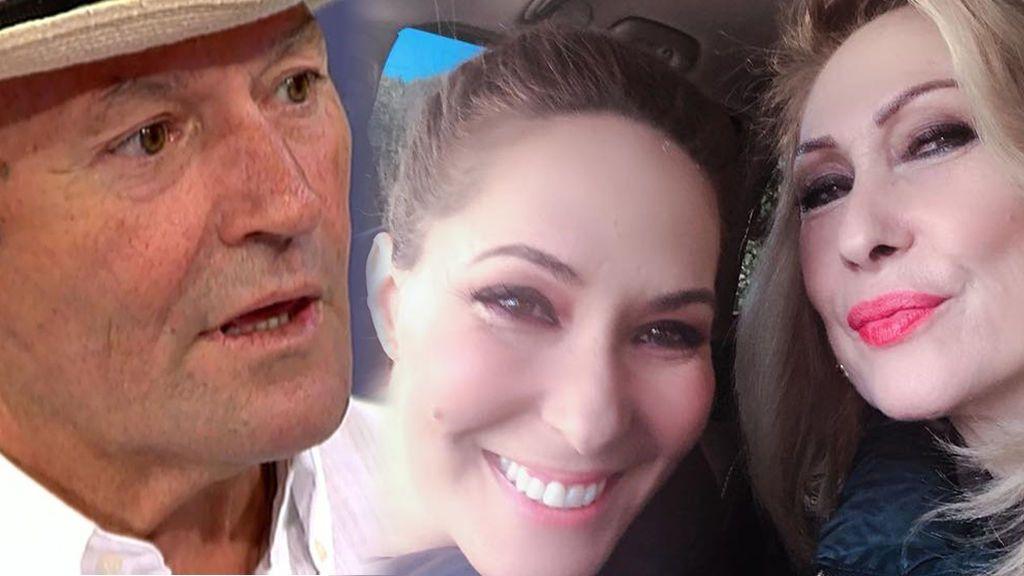 """Rosa Benito y Amador Mohedano se unen por su hija Chayo: """"Siempre sale el sol después de la lluvia"""""""