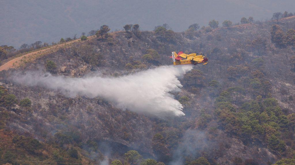 Regresan a sus casas 2.000 desalojados del incendio de Estepona
