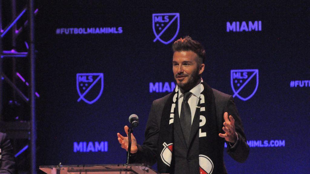 Problemas para Beckham en Miami: químicos en el terreno para la construcción del estadio