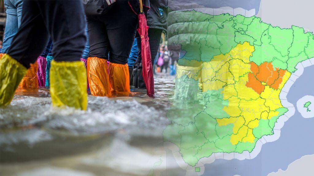Viento, rayos y mucha agua en poco tiempo: el centro y el este se preparan para un intenso temporal