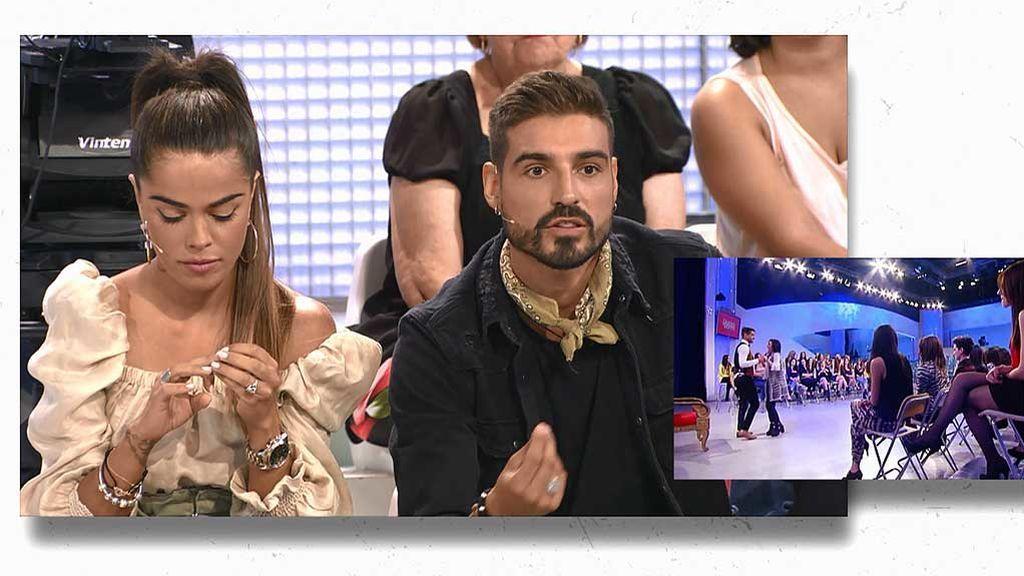 Violeta y Fabio coincidieron con Nicole