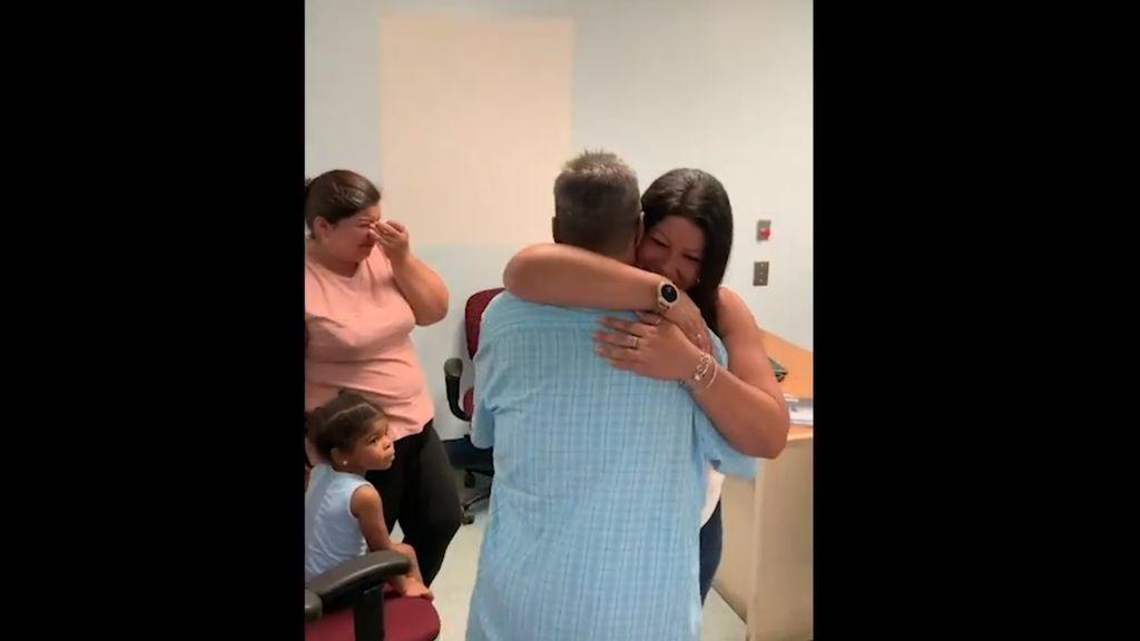 Un indigente de Nueva Jersey se reencuentra con su familia 24 años después gracias a la ayuda de un policía