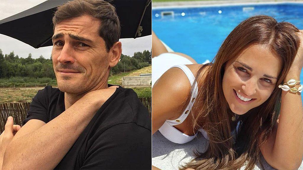 """Casillas cuelga una foto suya de hace 15 años y se lleva el vacile de Paula Echevarría por su 'look': """"Por no hablar del moreno"""""""