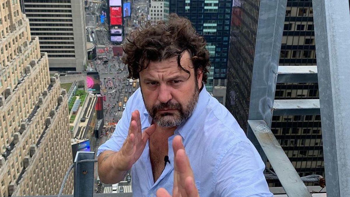 Diez curiosidades de Domingo Zapata: el español de 45 años que ha pintado el mural más grande de la historia Nueva York