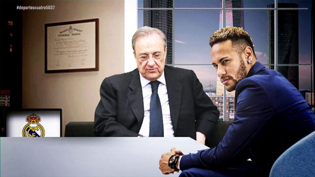 El plan económico de Florentino Pérez para amortizar el fichaje de Neymar por el Real Madrid