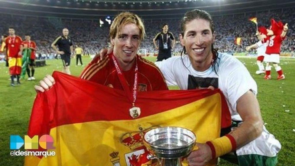 """El emotivo mensaje de Sergio Ramos para Fernando Torres tras su retirada """"Compañero, rival, amigo, leyenda"""""""