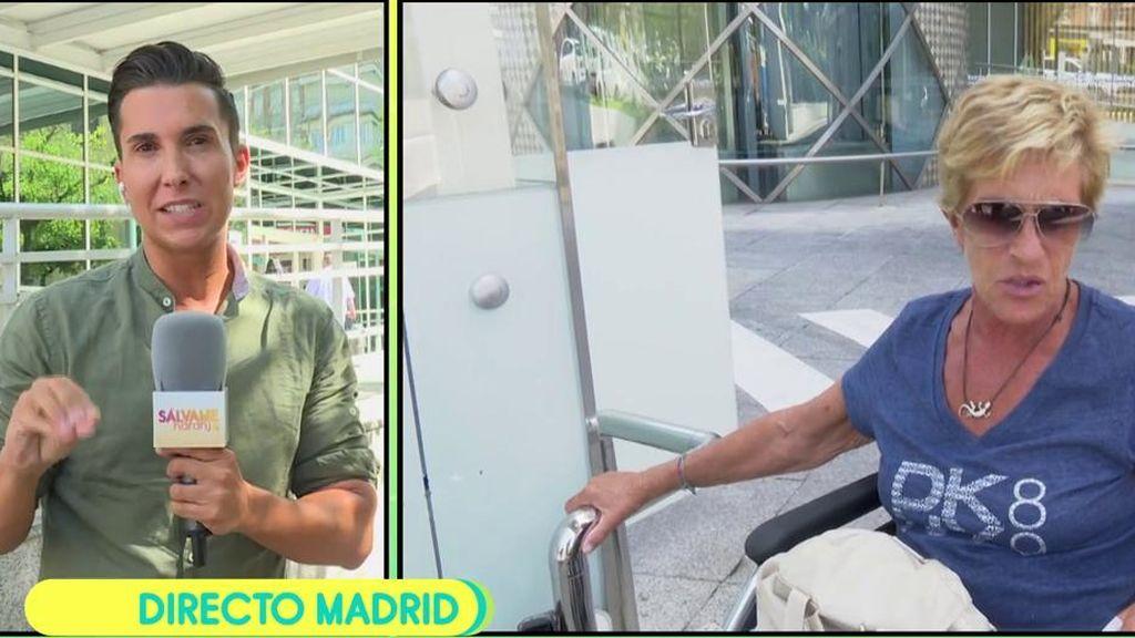 """Chelo Gª Cortés ya ha salido de la operación: """"Está muy animada"""""""