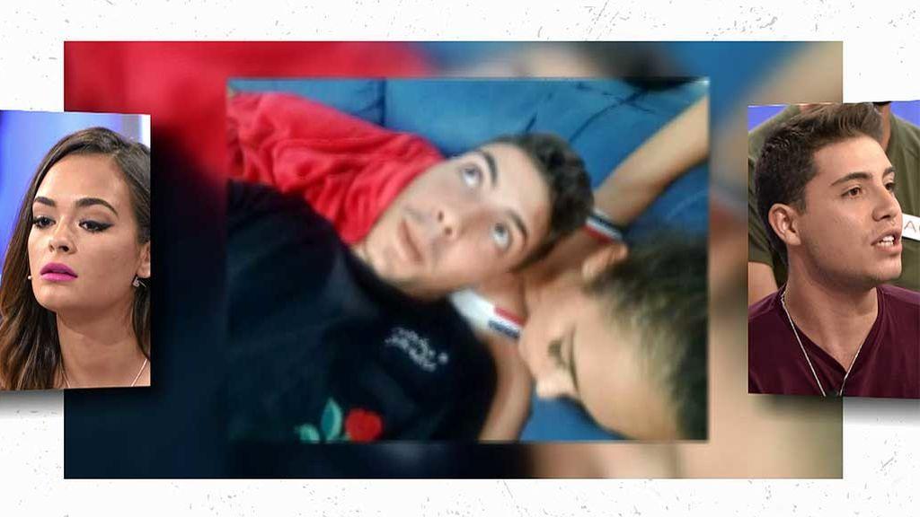 Las fotos de Jonathan durmiendo con Zaira