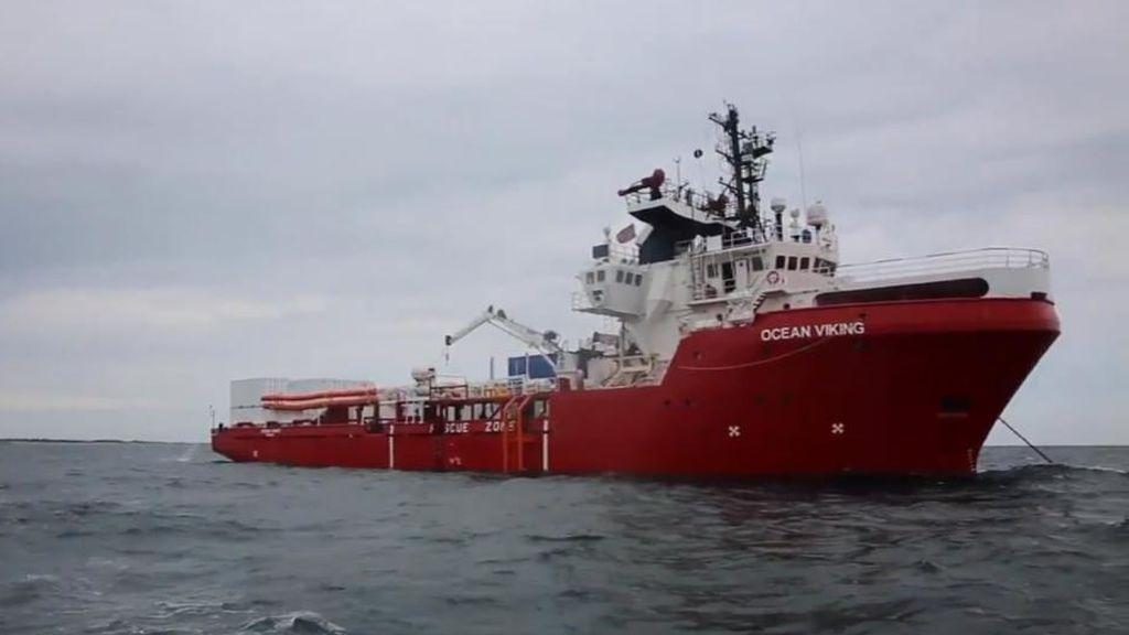 El Ocean Viking solo tiene comida para cinco días más