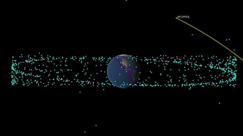 El asteroide 'Dios del caos' probablemente no choque contra la Tierra pero podremos verlo a simple vista