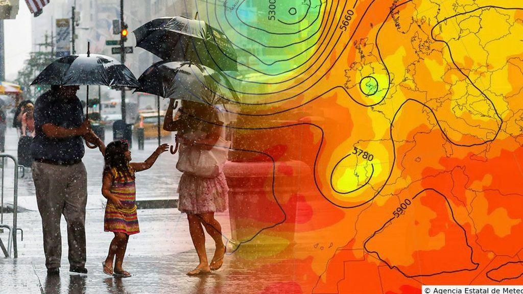 La Aemet lo confirma: una DANA nos visitará con tormentas y un desplome de los termómetros