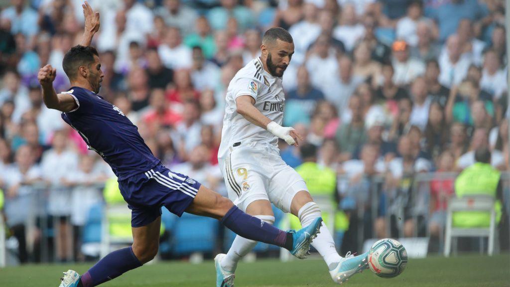El 'nuevo' Real Madrid de Zidane pincha en su reencuentro con el Bernabéu