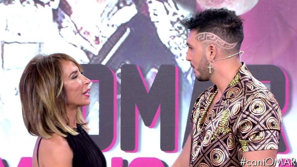 ¡Omar Montes le tira los trastos a María Patiño en directo!