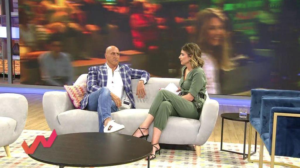 Sandra Barneda y Kiko Matamoros chocan en directo