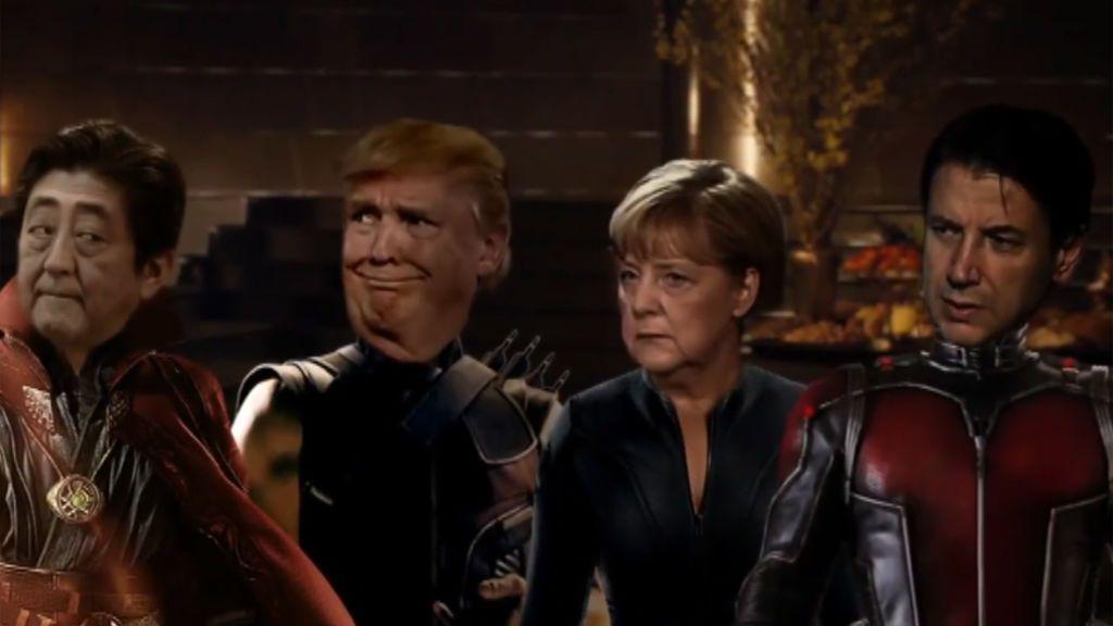 El vídeo que parodia la cumbre del G7 para pedir un compromiso contra la desigualdad de género