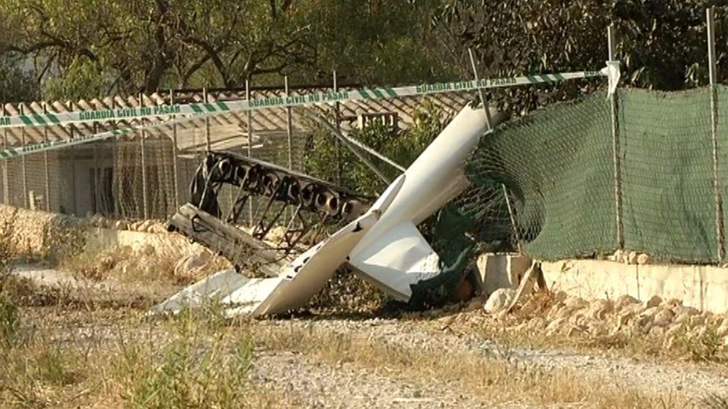 La mujer del piloto de la avioneta accidentada en Mallorca vio cómo la aeronave cayó