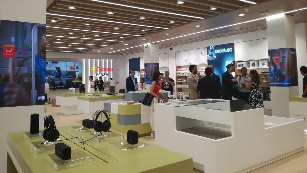 La primera tienda física en Europa de Aliexpress ya ha abierto: está en Madrid