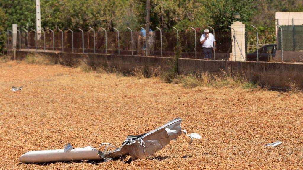 El accidente entre un helicóptero y un ultraligero en Mallorca, en imágenes