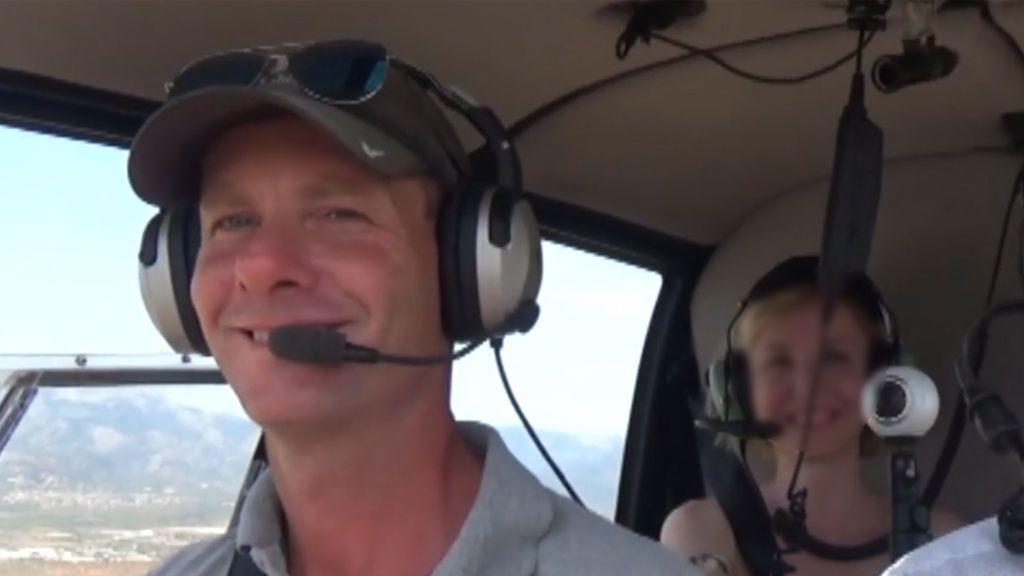 Cédric Leoni, el piloto fallecido del helicóptero accidentado en Mallorca