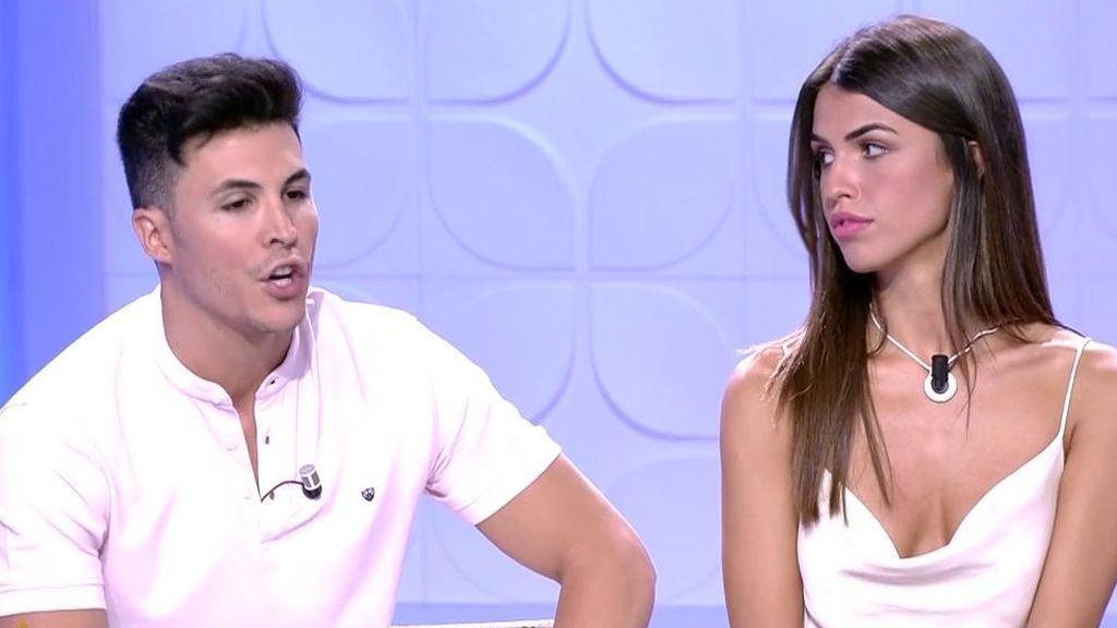 La reacción de Kiko Jiménez y Sofía Suescun a los audios que podrían provocar su ruptura