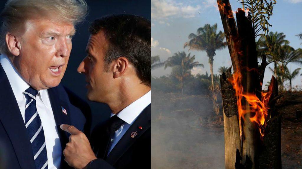 El G7 acuerda apoyar a los países de la Amazonía para ayudar a sofocar los incendios