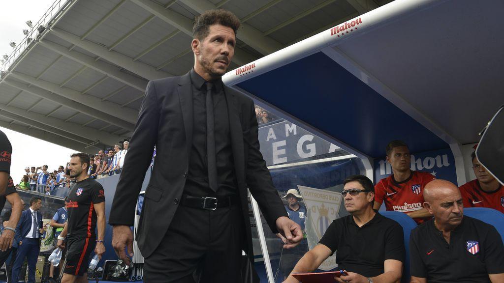 """Simeone, tras la victoria ante el Leganés: """"Moralmente todavía somos el equipo del pueblo"""""""