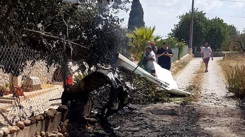 Cinco fallecidos, entre ellos un menor, en un accidente entre un helicóptero y un ultraligero en Mallorca