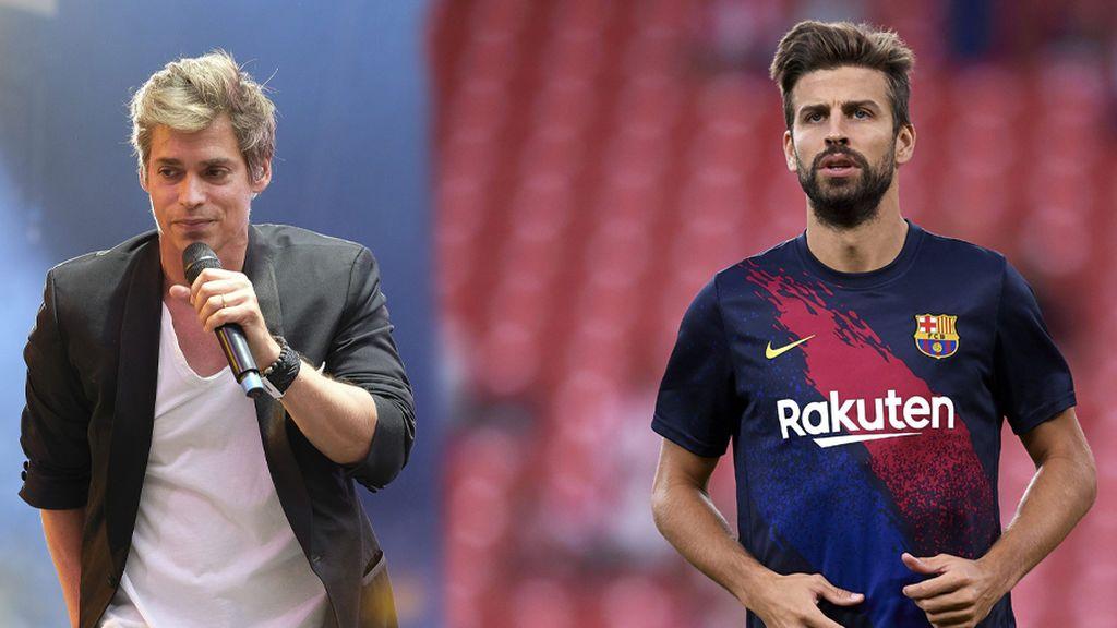 """La reacción de Carlos Baute cuando un fan le confunde con Piqué de joven en un concierto: """"Gracias por este momento tan divertido con mi 'doble"""""""