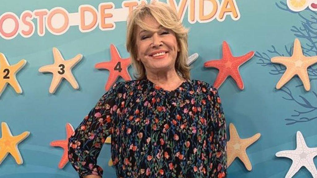 """Mila Ximénez disfruta de sus compañeros de 'Sálvame' y manda un zasca a Terelu Campos: """"Un domingo con los míos"""""""