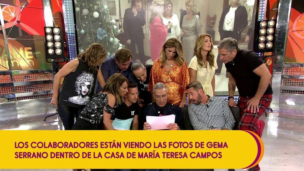 """Gema Serrano envía a 'Sálvame' las fotos de la casa de María Teresa Campos que corroboran que estuvo ahí: """"No he visto unas fotos más cutres que estas"""""""