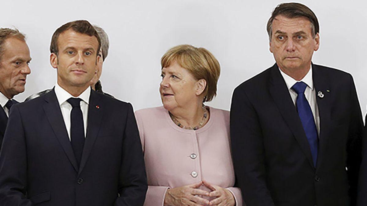 El incendio en la Amazonia quema la relación entre Macron y Bolsonaro