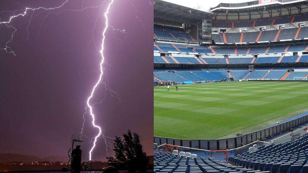 Los tanques de tormentas de la Comunidad recogieron ayer un volumen equivalente al Santiago Bernabéu