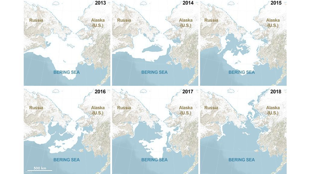 NOAA-Bering-Sea-Ice-Extent-2013-2018