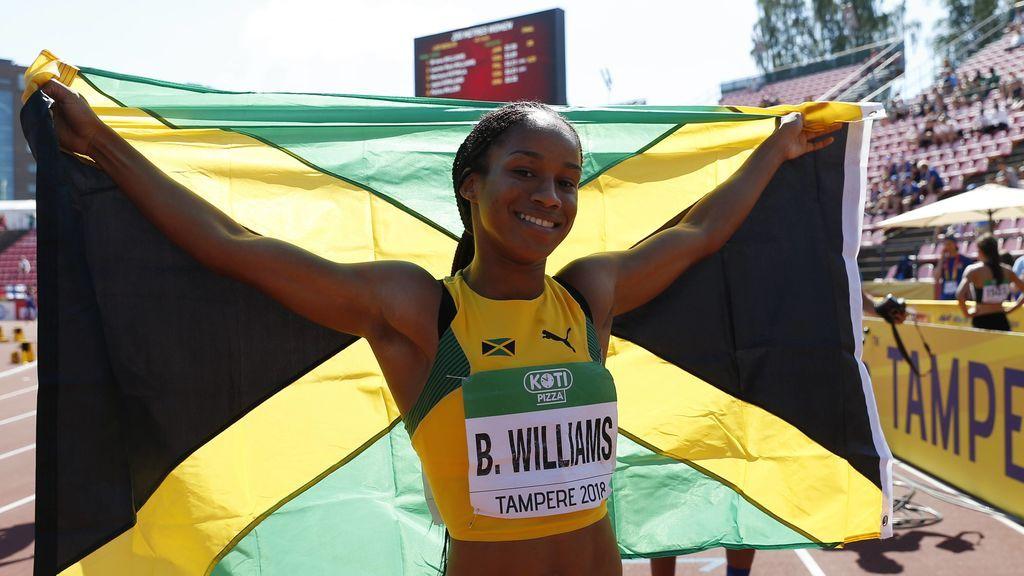 La velocista jamaicana Briana Williams da positivo en control antidoping y pone en peligro su participación en el Mundial de Doha