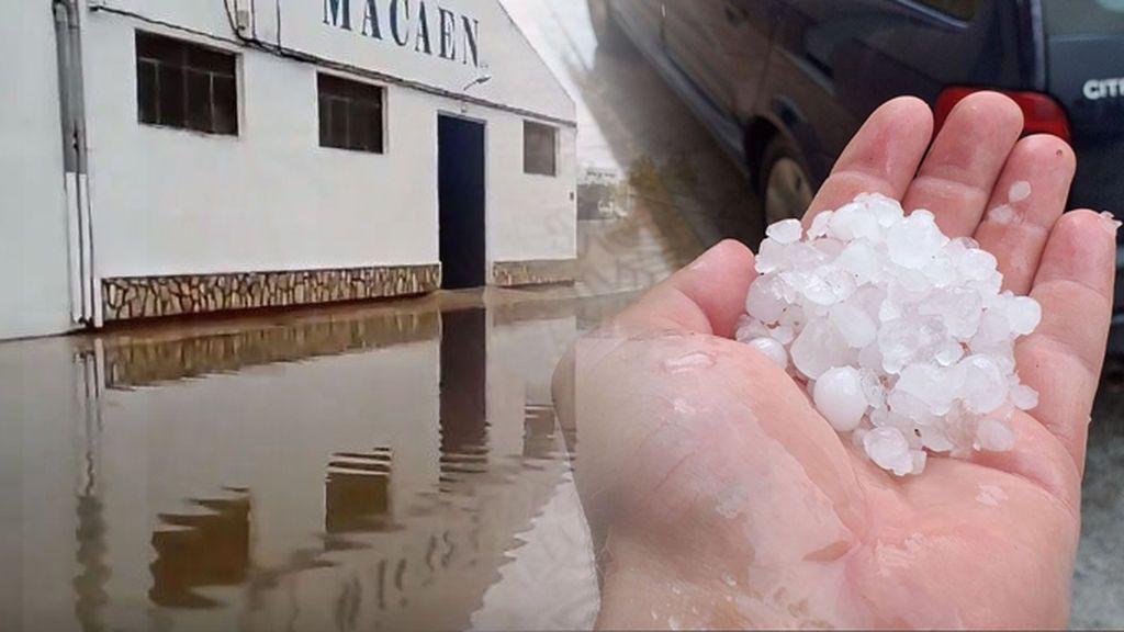 Vendaval, granizo e inundaciones: así se vivió el paso de la DANA en el Levante y Baleares