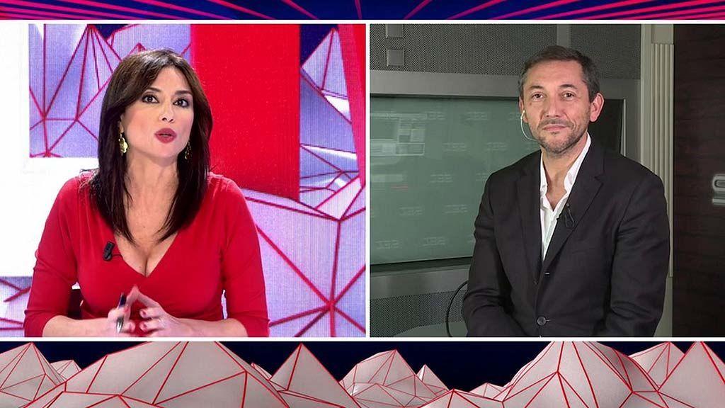 Javier Ruiz, ante los ataques por su entrevista a Pablo Iglesias