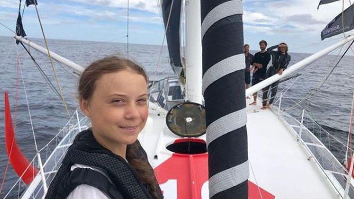 Greta Thunberg y el 'flygskam': llega a Nueva York en velero después de dos semanas en el mar