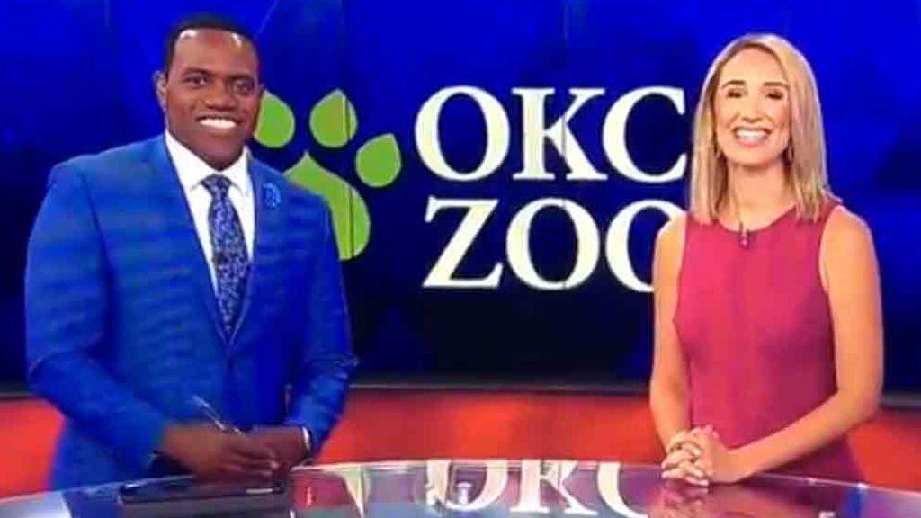 Acusan a una presentadora de racismo por comparar a su compañero con un gorila