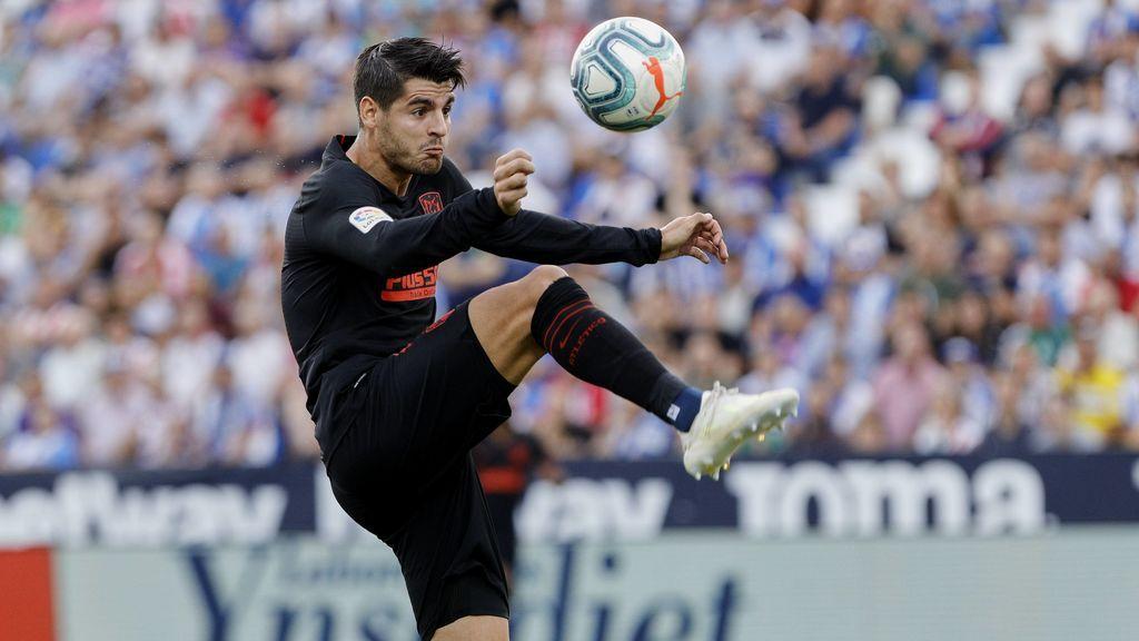 Morata se lesiona en el entrenamiento del Atlético de Madrid y se perderá el partido ante el Eibar