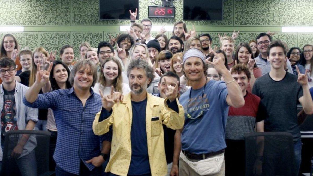 Matthew McConaughey, de estrella de cine a profesor de producción cinematográfica