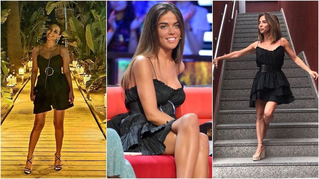 Paula Echevarría, Marta Sánchez o María Patiño ya lo han lucido: el mini vestido negro que arrasa entre las vips