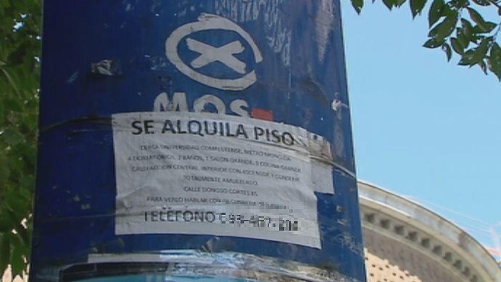 """Estafas en el alquiler de pisos en Madrid: """"Tenía la historia muy bien montada"""""""