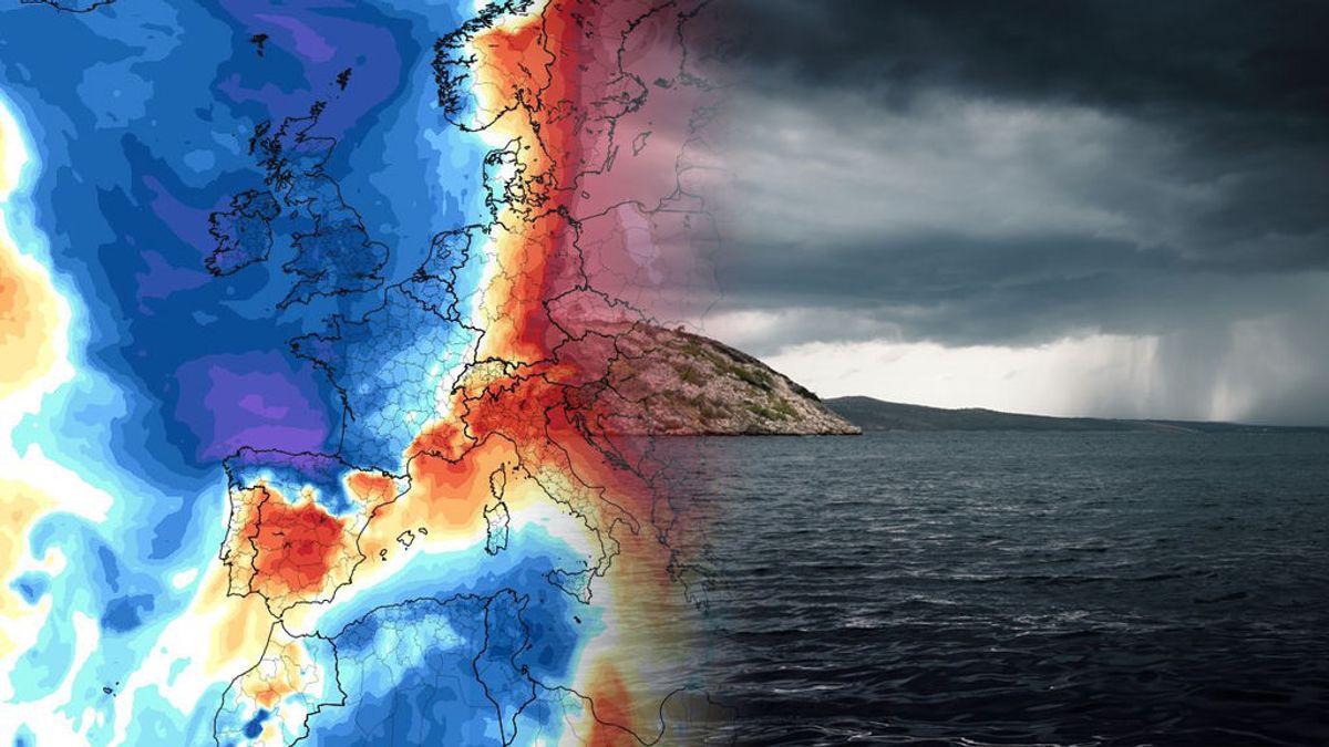Del calor al 'summer killer': una masa de aire ártico robará el verano al norte y el este del país