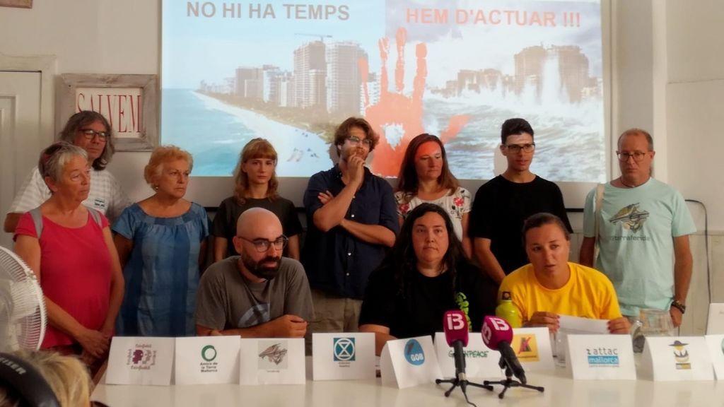 Varias entidades ecologistas de Mallorca piden a los ayuntamientos que declaren la emergencia climática